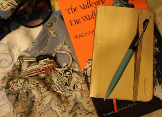 Keys Hankies Book Close-Up