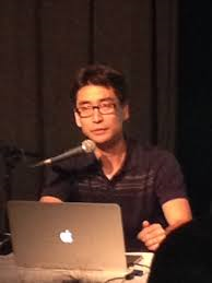 Kazu Kibuishi at the Palmerston Branch of the Toronto Public Library