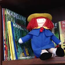 Madeleine hanging out at The Children's Book Bank.