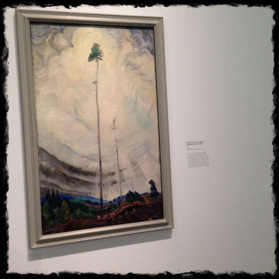 """Scorned as Timber, Beloved of the Sky"" Emily Carr"